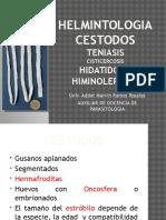HELMINTOLOGIA cestodos