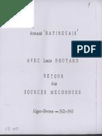 4 01 Retour Aux Sources Méconnues- Volume 1-Fascicule 1 (HATINGUAIS).Compressed
