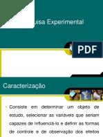 11 - Pesquisa Experimental
