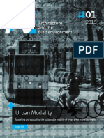 Urban Modality Modelling and Evaluating