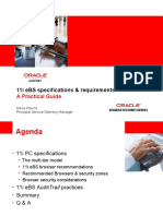 11i ORACLE eBusiness Suite - PC Clients specifications & requirements A Practical Guide