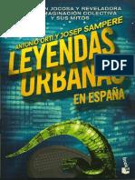Leyendas Urbanas en España