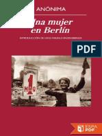 Una Mujer en Berlin - Anonima