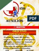 Curso de Primeros Auxilio - MAPFRE.pps