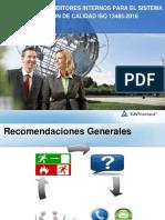 Presentación Auditoria ISO 13485_2016