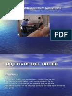 Presentac.mantenim.de Tallimetros Huaytara
