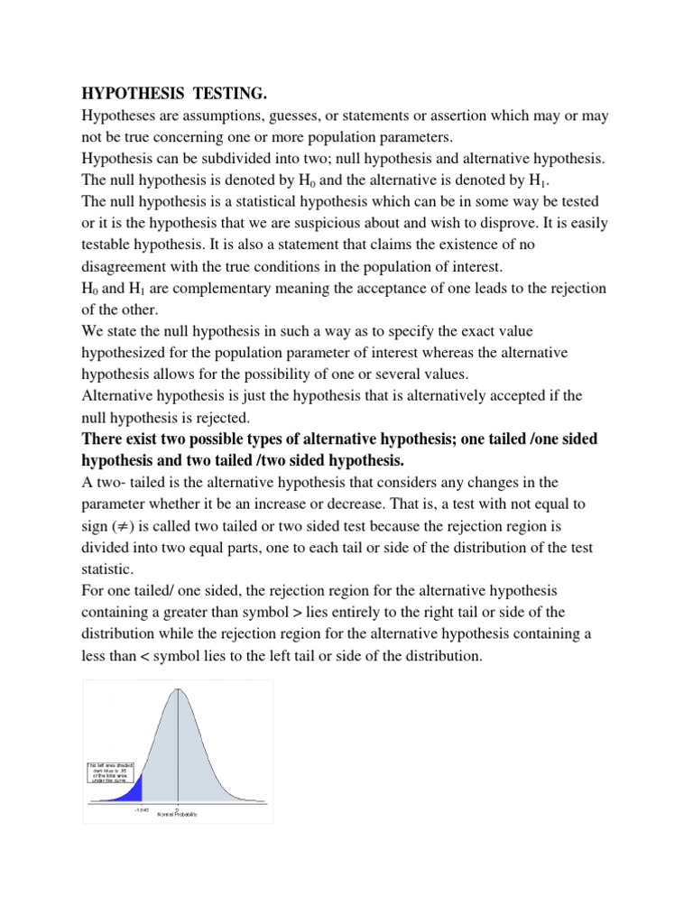 Hypothesis testing statistical hypothesis testing type i and hypothesis testing statistical hypothesis testing type i and type ii errors biocorpaavc