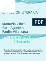 EXPRESIÓN LITERARIA