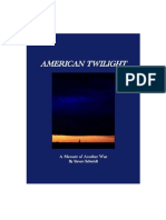American Twilight_excerpt Chapter Four-Personal Politics