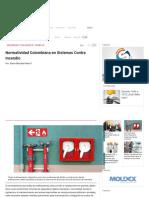 Normatividad Colombiana en Sistemas Contra Incendio _ Safety Work