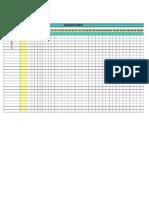 Plantilla de Excel Para Cronograma de Actividades