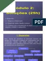 Dispersões e Soluçoes - Módulo 2