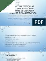 Teratoma Testicular Bilateral Sincrónico