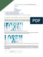 Creacion de objetos de PowerClip.pdf