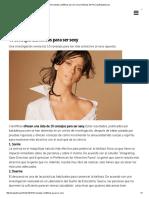 10 Consejos Científicos Para Ser Sexy _ Noticias Del Perú _ LaRepublica