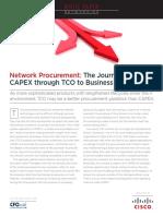Network Procurement Cfo