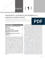 Chapter 1 Introduction - Convergence and Divergence of Opinion on Spinal Control
