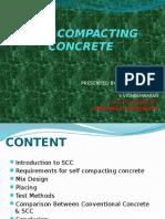 SCC( Self compacting concrete)