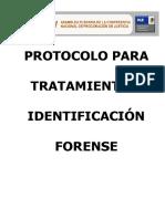 Protocolo identificacion forense