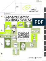 GE Lighting Systems Product Catalog 1983-1984