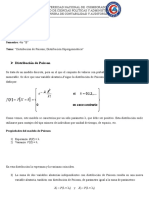 Estadistica Distribucion de Poisson