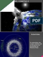 5.2. -Asteroides Cometas e Meteoritos