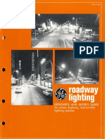 GE Lighting Systems Roadway Lighting Catalog 1967