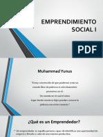 Emprendimiento Social i
