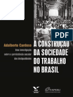 Adalberto-construcao Da Sociedade Do Trabalho No Brasil