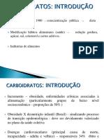 Carboidratos -  UFF