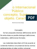 Derecho Iinternacional Público