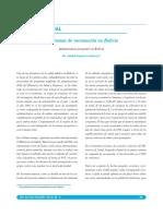 Programas de Vacunacion en Bolivia