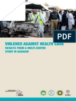 2015 Violence Against Health Care-results From a Multi-centre Study in Karachi