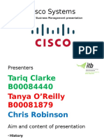 A presentation on Cisco