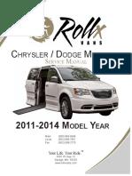 2011 2014 Chrysler Minivan Service Manual 13315 004