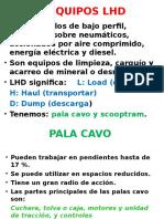 EQUIPOS DE CARGUIO, LIMPIEZA Y ACARREO USADOS.ppt