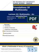 Foundations of Multimedia