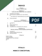 Trabajo Monográfico de Explotación Comercial de Una Marca, Cesión de Licencia y Protecciòn de Otros Signos.