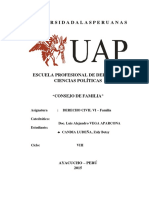 Trabajo Monográfico de Consejo de Familia.