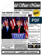 November 17, 2016 Edition The Emerald Star News