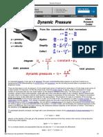 Dynamic Pressure Nasa