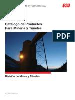 DSI Underground Catalogo de Productos Para Mineria y Tuneles SP
