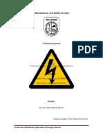 Producción, Distribución y Mercadeo de Energía Electrica.