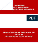 Akuntansi Pajak Penghasilan Dan Pencatatan Transaksi