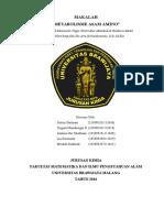 Makalah Struktur Dan Fungsi Asam Amino (Biomedis)
