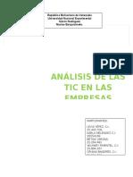 Analicis Final de las TIC en las empresas..