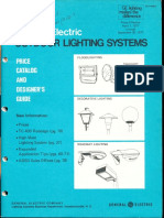 GE Lighting Systems Price Book - Outdoor Designers Guide 4-77 - 9-77