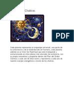 Planetas y Chakras