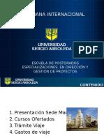 Presentación Semana Internacional 2017 Edg