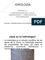 HIDROLÓGICA MODULO 1
